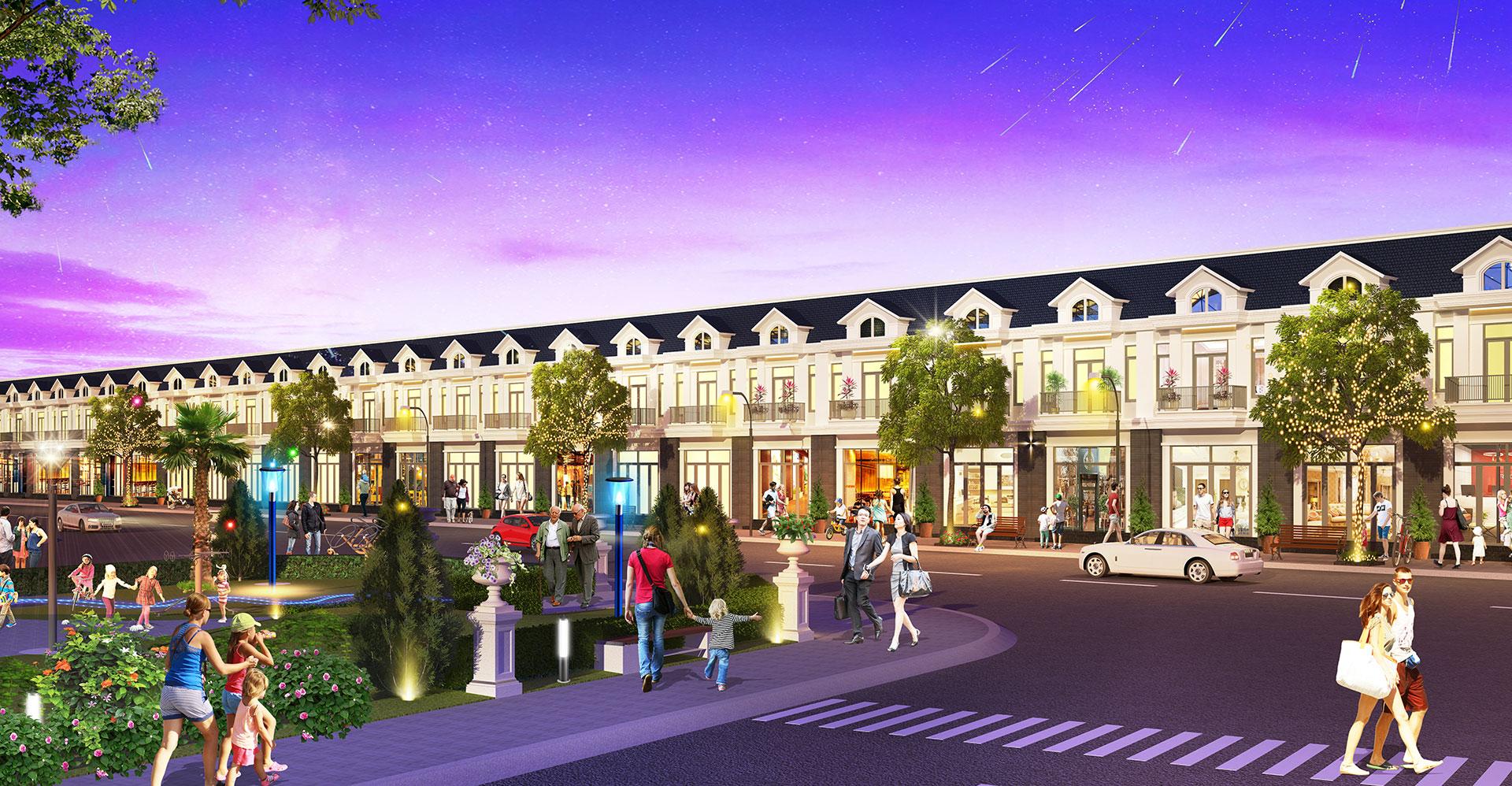 Phối cảnh phân khu mới Century Garden nằm bên trong dự án khu đô thị Century City