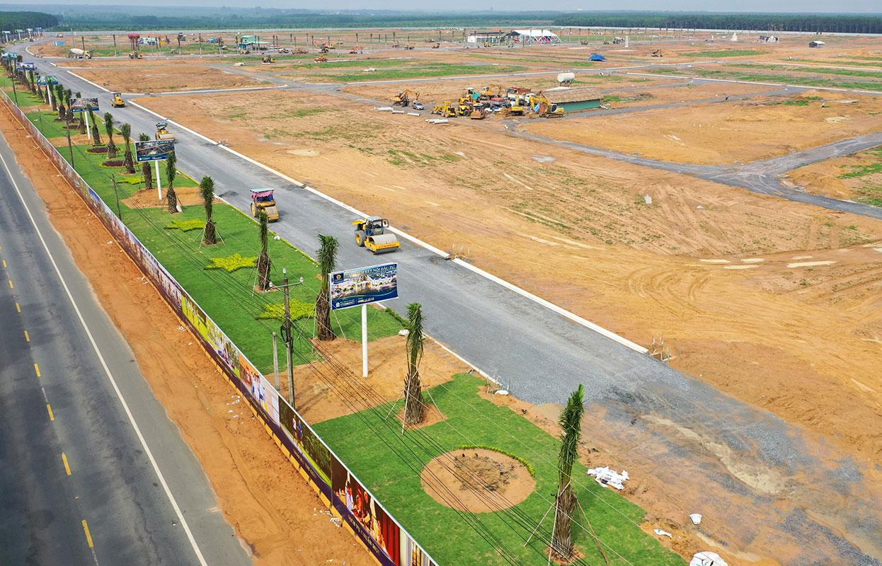 Tiến độ xây dựng dự án khu đô thị Century City vào tháng 11/2020